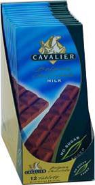 Cavalier sjokoladeplate melk 85 g